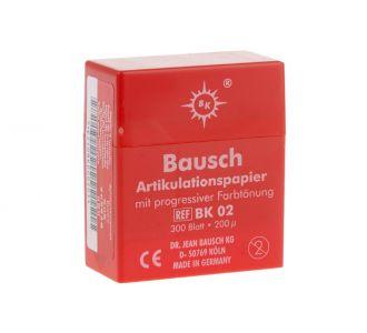 Бумага артикуляционная Bausch BK 02