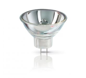 Лампочка галогенная Philips с плоскими контактами 12V 100W