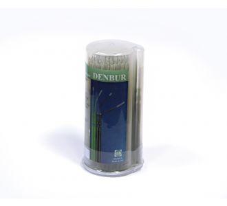 Аппликаторы Denbur Nano-Brush для эндодонтии, черные, длинные, диспенсер 120шт