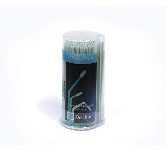 Аппликаторы Denbur Maxi-Brush бирюзовые, средние, диспенсер 150шт
