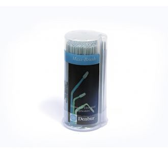 Аппликаторы Denbur Maxi-Brush синие, большие, диспенсер 150шт
