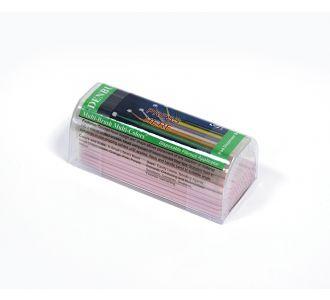 Аппликаторы Denbur Multi-Brush Small розовые, запасной блок 100шт
