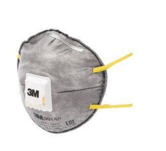 Защитная маска 3M 9914P класс защиты 1 FFP1 NR D, 10 шт. в уп.