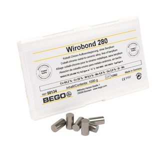 Сплав Bego Wirobond 280 для керамики, 1кг